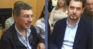 O socialista Aurentino Alonso e o popular Álvaro Fernández, novos deputados provinciais por Valdeorras