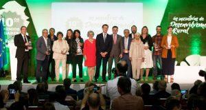 Amarelante Cooperativa de Manzaneda e o GDR Ribeira Sacra-Courel recollen os seus premios Agader