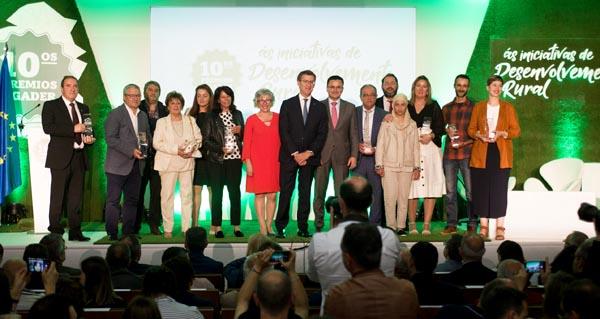 Photo of Amarelante Cooperativa de Manzaneda e o GDR Ribeira Sacra-Courel recollen os seus premios Agader