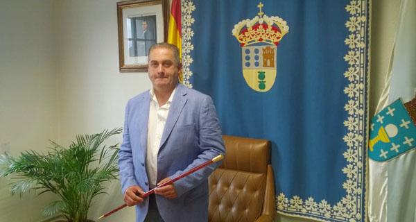 Photo of Amable Fernández, novo alcalde de Manzaneda