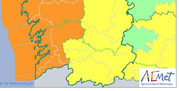 Photo of Aviso amarelo por forte vento na provincia de Ourense