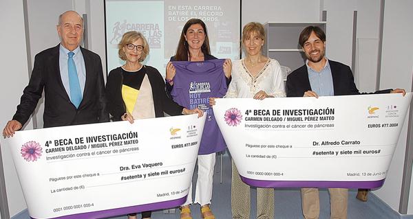 Photo of As carreiras contra o cancro de páncreas, entre elas a de Vilamartín, financian dúas investigacións sobre este tumor