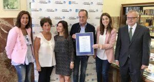 """As """"cañas fritas"""" da Confitería Cerviño do Carballiño, certificadas co selo de Galicia Calidade"""