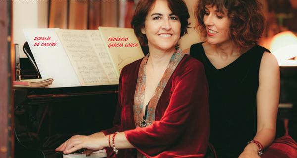 """Photo of Lucía Álvarez e Rosa Torres-Pardo desvelan os vínculos poéticos entre Lorca e Rosalía no espectáculo """"Cantares para piano y voz emocionada"""""""