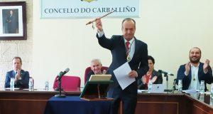 Francisco Fumega empeza un novo mandato como alcalde do Carballiño