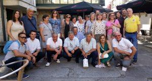 Xantar de amigos de Fenosa, en Trives