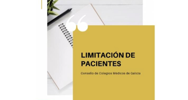 Photo of O Consello Galego de Colexios Médicos amosa a súa postura sobre a limitación de pacientes