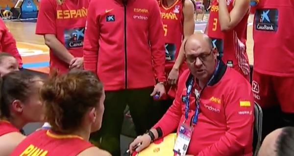 Photo of Sólida vitoria da selección feminina do valdeorrés Lucas Mondelo na súa estrea no Eurobasket