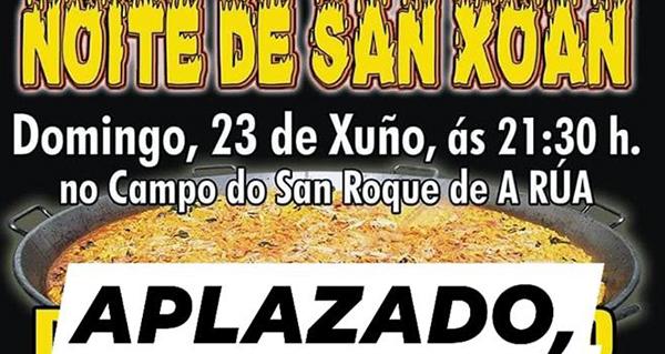 Photo of Aprázase a cea da Noite de San Xoán prevista para este domingo na Rúa Vella