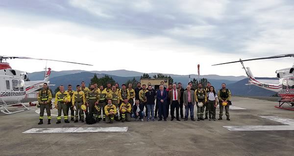 Photo of O BRIF de Laza recibe a visita do subdelegado do Goberno en Ourense