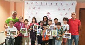 O Concello de Trives premia aos nenos das Escolas Deportivas Municipais
