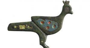 """Unha fíbula romana con esmalte, """"Peza de Xuño"""" do Museo Arqueolóxico Provincial de Ourense"""