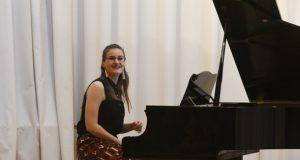 Concerto da pianista trivesa María Domínguez na casa