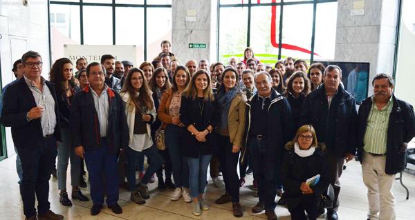 """Photo of Participantes no proxecto """"Economia Ativa no Douro Verde"""" visitan a D.O. Monterrei"""