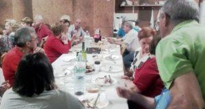 A Asociación Petanca Valdeorras festexa o San Xoán