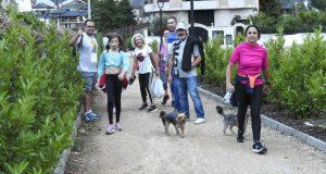 Unhas 160 persoas celebran o San Xoán no Barco camiñando ou correndo