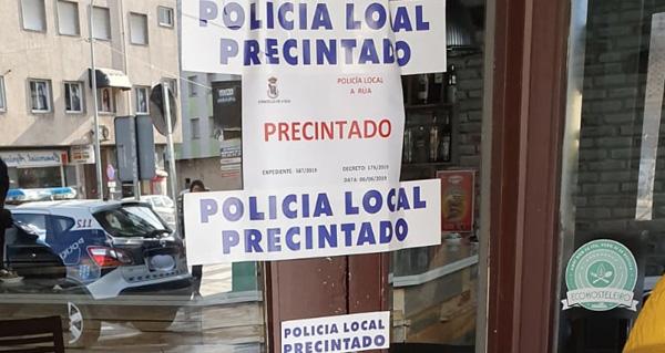 Photo of Precíntase un local de hostalaría na Rúa ante as queixas veciñais polo ruído