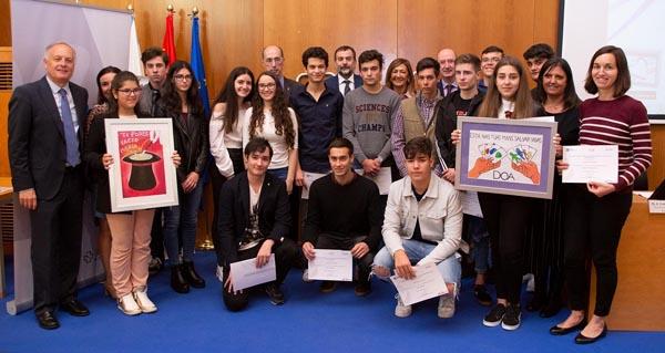 Photo of Alumnos do IES nº1 do Carballiño, premiados no VI Concurso de Curtas sobre doazón e transplantes