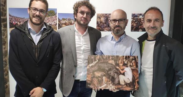 """Photo of O fotógrafo barquense Sindo Novoa expón na Coruña """"Un día na Rapa das Bestas (do monte ao curro)"""""""