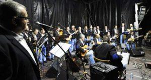 O grupo valdeorrés Son do Sil, no III Albur Festival de Alburquerque