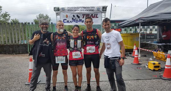 Photo of Durísimo Trail de Chandrexa con case 250 participantes