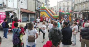 Masterclass de aeróbic, mercado artesán e inchables, na III Xornada Interxeracional en Viana