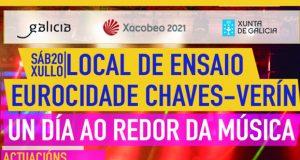 """O 20 de xullo a Eurocidade Chaves-Verín celebra """"Un día ao redor da música"""""""