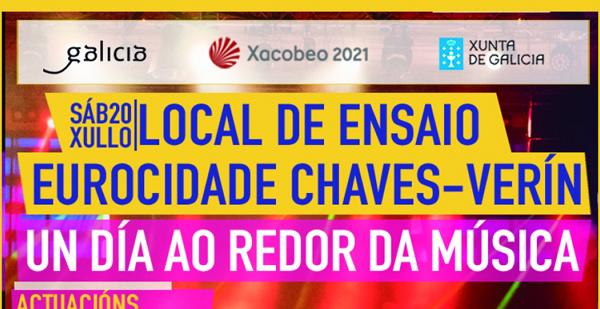 """Photo of O 20 de xullo a Eurocidade Chaves-Verín celebra """"Un día ao redor da música"""""""