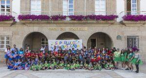 """O tradicional """"Desfile da Ludoteca Especial Batucada"""" ameniza Verín"""