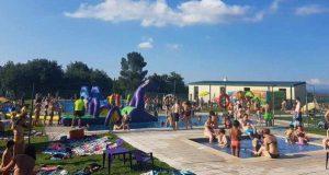 Sober celebra mañá a súa primeira festa acuática deste verán con inchables