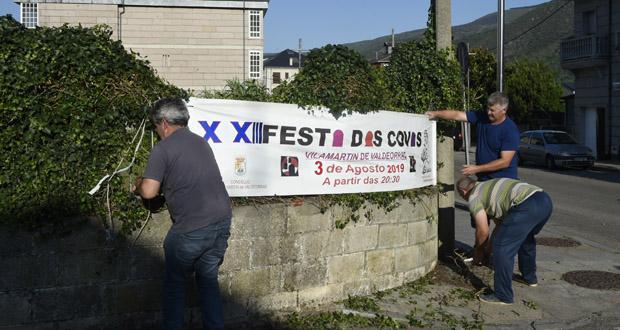 Photo of As pancartas da XXIII Festa das Covas de Vilamartín de Valdeorras xa están na rúa