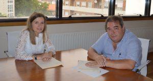 O C.R.D.O. Monterrei e o Concello de Verín asinan un convenio para a XIV Feira do Viño