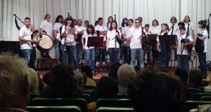 Concerto das bandas de gaitas Os Trintas e Devalar na primeira xornada da XLVI Festa da Bica de Trives