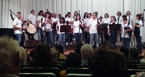 Photo of Concerto das bandas de gaitas Os Trintas e Devalar na primeira xornada da XLVI Festa da Bica de Trives