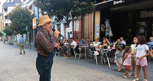 """Photo of Os """"Camiños"""" de Magín Blanco recalan na Rúa"""