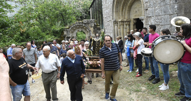 Photo of A procesión de San Bieito rodea un ano máis o Mosteiro de Santa Cristina de Ribas de Sil