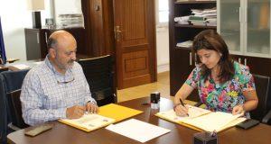 """Asínase o convenio para a execución do proxecto """"Raia Termal"""" en Lobios cun investimento de 300 mil euros"""