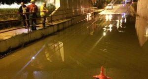 A treboada do Barco cortaba o acceso á vila dende Veigamuíños