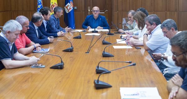 Photo of Constitúense as comisións informativas da Deputación de Ourense