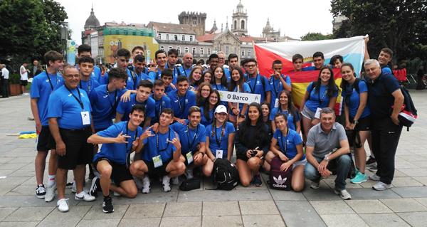 Photo of Medio cento de deportistas barquenses, nos Xogos do Eixo Atlántico en Braga