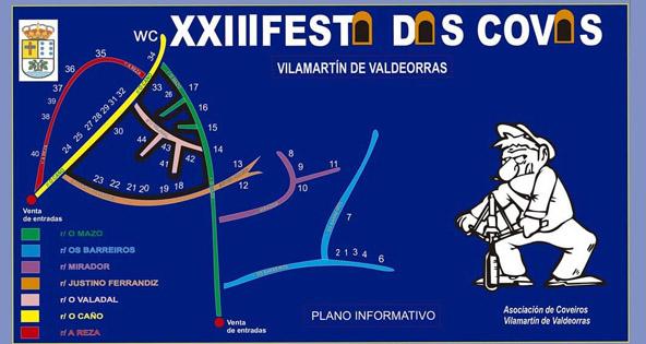 Photo of Vilamartín abrirá 44 das súas covas nesta XXIII edición da Festa das Covas