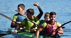 O barquense Raúl Prada, campión de España infantil A en K4