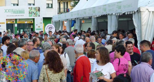 Photo of O público enche o recinto da XXII Feira do Viño de Valdeorras