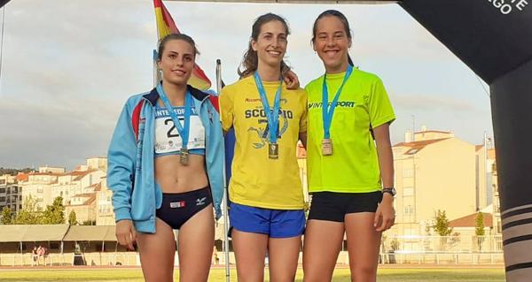 Photo of Ouro para os valdeorreses Leticia Gil e Carlos Revuelta no galego absoluto de atletismo