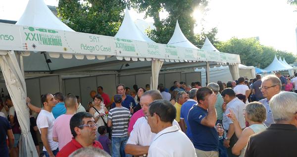 Photo of A XXII Feira do Viño de Valdeorras sube en participación