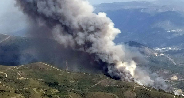 Photo of Incendio forestal en Montefurado (Quiroga)