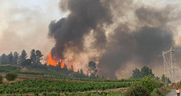 Photo of Continúa activo o incendio de Montefurado