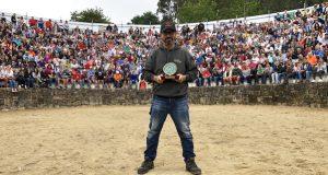O fotógrafo barquense Sindo Novoa, galardoado na Rapa das Bestas de Sabucedo
