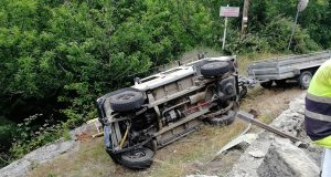 Novo accidente de tráfico en Trives