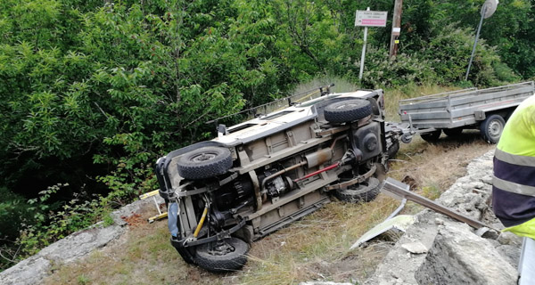 Photo of Novo accidente de tráfico en Trives